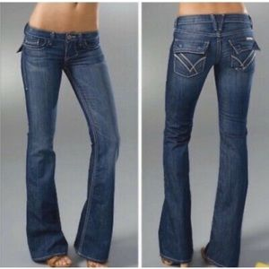 William Rast Belle Flap Flare Jeans 27